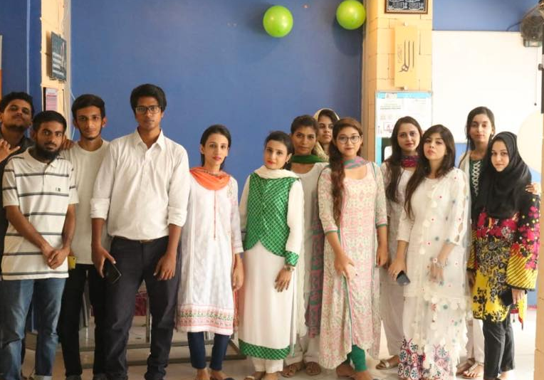 Students and Teachers of English language course