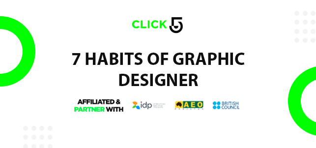 7 Habits of a Graphic Designer