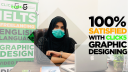 100% Satisfied Graphic Designing Student | Click5